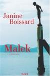 """Couverture du livre : """"Malek"""""""