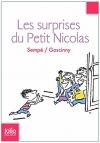 """Couverture du livre : """"Les surprises du petit Nicolas"""""""