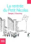 """Couverture du livre : """"La rentrée du petit Nicolas"""""""
