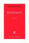 """Couverture du livre : """"Revenants"""""""