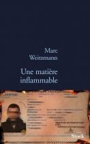 """Couverture du livre : """"Une matière inflammable"""""""