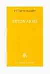 """Couverture du livre : """"Béton armé"""""""
