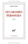 """Couverture du livre : """"Les grandes personnes"""""""