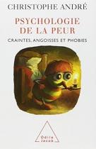 """Couverture du livre : """"Psychologie de la peur"""""""