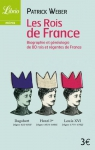 """Couverture du livre : """"Les rois de France"""""""