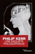 """Couverture du livre : """"Une enquête philosophique"""""""