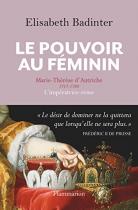 """Couverture du livre : """"Le pouvoir au féminin"""""""