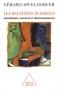 """Couverture du livre : """"Les relations durables"""""""
