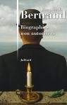 """Couverture du livre : """"Biographies non autorisées"""""""