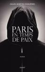 """Couverture du livre : """"Paris en temps de paix"""""""