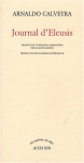 """Couverture du livre : """"Journal d'Eleusis"""""""