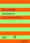 """Couverture du livre : """"Les grands économistes"""""""