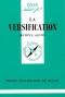 """Couverture du livre : """"La versification"""""""