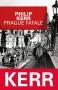 """Couverture du livre : """"Prague fatale"""""""