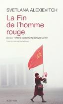 """Couverture du livre : """"La fin de l'homme rouge"""""""