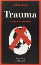 """Couverture du livre : """"Trauma"""""""