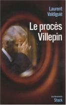 """Couverture du livre : """"Le procès Villepin"""""""