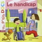 """Couverture du livre : """"Le handicap"""""""