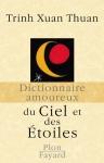 """Couverture du livre : """"Dictionnaire amoureux du ciel et des étoiles"""""""
