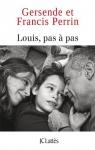 """Couverture du livre : """"Louis, pas à pas"""""""