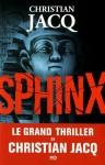 """Couverture du livre : """"Sphinx"""""""