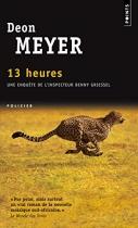 """Couverture du livre : """"13 heures"""""""