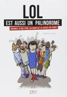 """Couverture du livre : """"Lol est aussi un palindrome"""""""