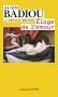 """Couverture du livre : """"Éloge de l'amour"""""""