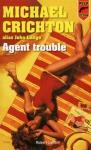 """Couverture du livre : """"Agent trouble"""""""