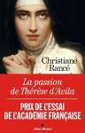 """Couverture du livre : """"La passion de Thérèse d'Avila"""""""