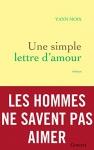"""Couverture du livre : """"Une simple lettre d'amour"""""""