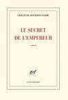 """Couverture du livre : """"Le secret de l'empereur"""""""