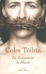 """Couverture du livre : """"Le testament de Marie"""""""