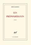 """Couverture du livre : """"Les prépondérants"""""""