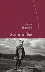 """Couverture du livre : """"Avant la fête"""""""