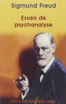 """Couverture du livre : """"Essais de psychanalyse"""""""