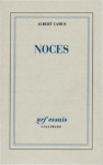 """Couverture du livre : """"Noces"""""""