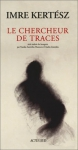 """Couverture du livre : """"Le chercheur de traces"""""""
