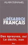 """Couverture du livre : """"Le désarroi français"""""""