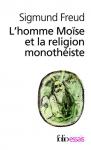 """Couverture du livre : """"L'homme Moïse et la religion monothéiste"""""""