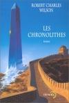 """Couverture du livre : """"Les chronolithes"""""""