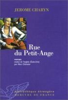 """Couverture du livre : """"Rue du Petit-Ange"""""""