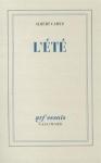 """Couverture du livre : """"L'été"""""""