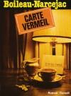 """Couverture du livre : """"Carte Vermeil"""""""