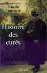 """Couverture du livre : """"Histoire des curés"""""""