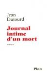 """Couverture du livre : """"Journal intime d'un mort"""""""