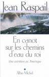 """Couverture du livre : """"En canot sur les chemins d'eau du Roi"""""""