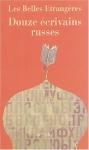"""Couverture du livre : """"Douze écrivains russes"""""""