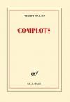 """Couverture du livre : """"Complots"""""""