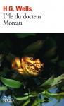 """Couverture du livre : """"L'île du docteur Moreau"""""""